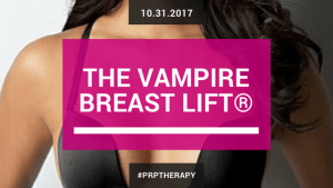 Vampire Breast Lift